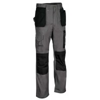 Cofra Anthracite Rotterdam Canvas Trousers