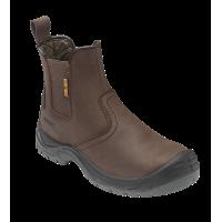 Worktough 804SM Brown Dealer Safety Boots