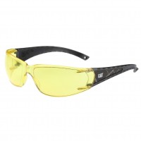 CAT Blaze Safety Glasses - Yellow