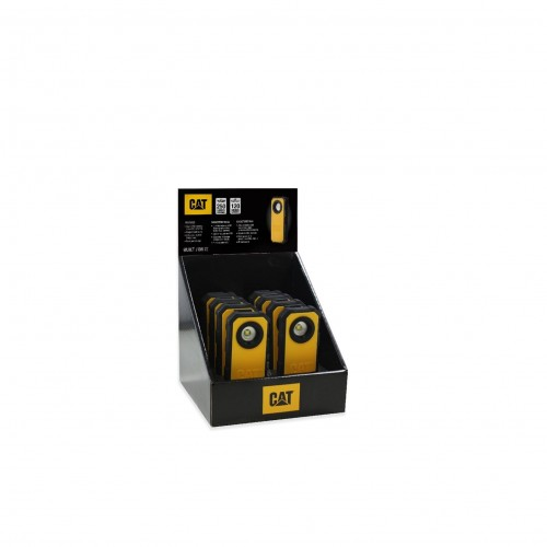 CAT Pocket Spot Light 250LM 8Pcs Display - Black/Yellow