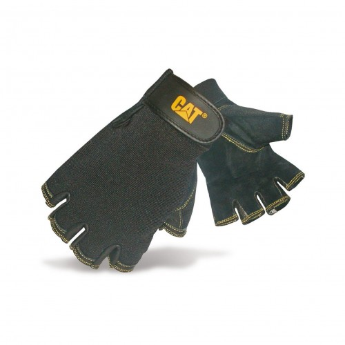 CAT Pig Skin Fingerless Glove - Large