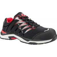 Albatros Twist Low Black/Red Safety Shoes