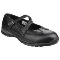 Amblers FS55 Black Ladies Safety Shoes
