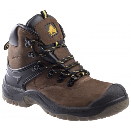 Amblers FS197 Brown Waterproof Safety Boots