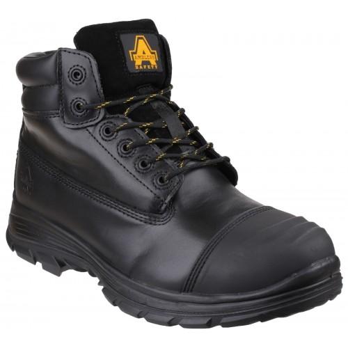Amblers FS301 Brecon Black Metatarsal Safety Boots