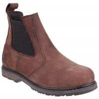 Amblers AS148 Sperrin Brown Safety Dealer Boots