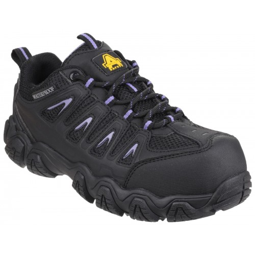 Amblers AS708 Waterproof Non-Metal Ladies Trainers