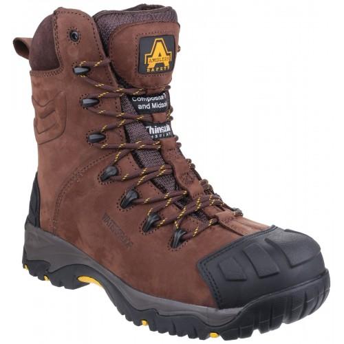 Amblers AS995 Pillar Waterproof Hi-Leg Safety Boots