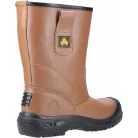 Amblers FS142 Tan Safety Rigger Boots