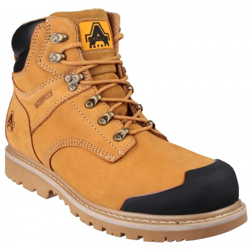 Amblers FS226 Honey Welted Waterproof Safety Boots