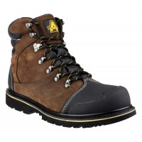 Amblers FS227 Brown Waterproof Safety Boots