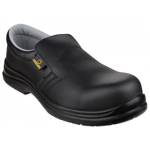 Amblers FS661 Black ESD Slip On Safety Shoes