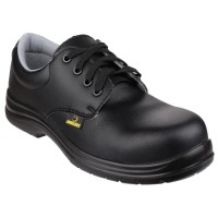 Amblers FS662 Black Metal Free Safety Shoes
