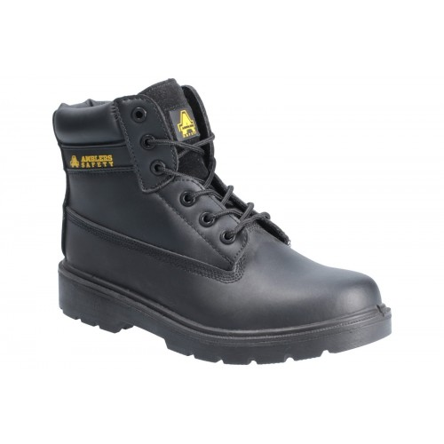 Amblers FS12C Black Metal Free Safety Boots