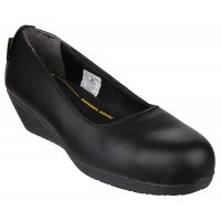 Amblers FS107 Black Ladies Safety Shoes