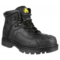 Amblers FS996 Black Metal Free Waterproof Boots