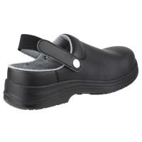 Amblers FS514 Black Clog Safety Shoes