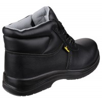 Amblers  FS663 Black Metal Free Safety Boots