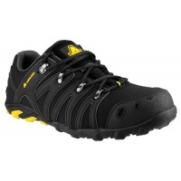 Amblers FS23 Black Softshell Safety Trainers