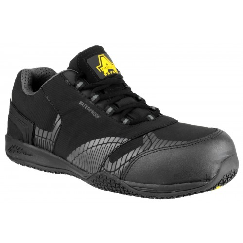 Amblers FS29C Black Safety Trainers