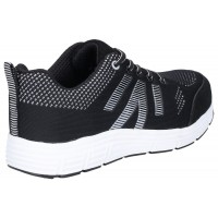 Amblers FS714 Bolt Black Safety Trainers