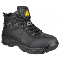 Amblers FS190N Black Waterproof Hiker Safety Boots