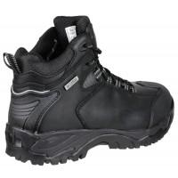 Amblers FS190N Black Waterproof Hiker Safety Boots