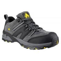 Amblers FS188N Grey Safety Trainers