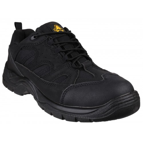 Amblers FS214 Black Safety Trainers