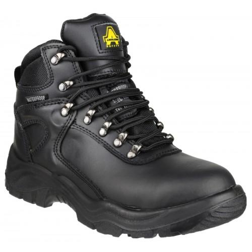 Amblers FS218 Black Waterproof Safety Boots