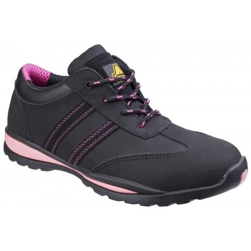 Amblers Safety FS47 Black/Pink