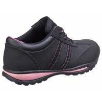 Amblers Safety FS47 Black/Pink