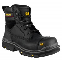 CAT Gravel Black 6 Inch Safety Boots