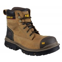 CAT Gravel Brown 6 Inch Safety Boots