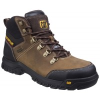 CAT Framework Brown Safety Boots