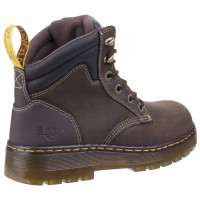 Dr Martens Brace Brown Safety Boots