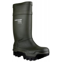 Dunlop Purofort C662933 Thermo+ Green Safety Wellingtons