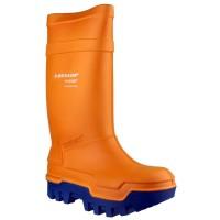 Dunlop Purofort C662343 Thermo+ Orange Safety Wellingtons