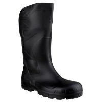 Dunlop Devon Black Safety Wellingtons