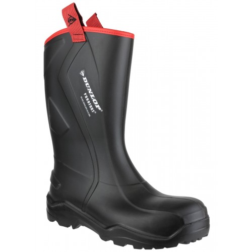 Dunlop Purofort+ Rugged Black