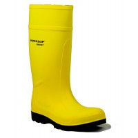 Dunlop Purofort Professional Yellow Safety Wellingtons