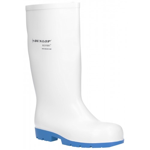 Dunlop Acifort Classic+ White Safety Wellingtons
