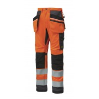 Snickers 6230 High Visibility Trousers Holster Pockets+ Class 2