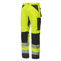 Snickers 6331 High Visibility Trousers Class 2