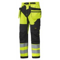 Snickers 6932 High Visibility Trousers Holster Pockets+ Class 2