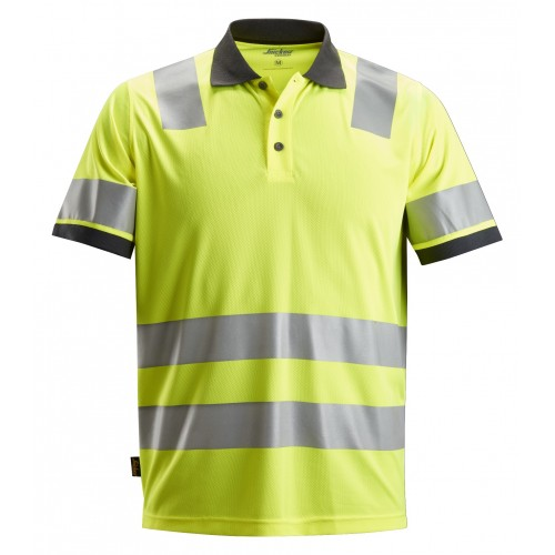 Snickers 2730 AllroundWork, High-Vis Polo Shirt