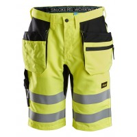 Snickers 6131 LiteWork, High-Vis Shorts+ Holster Pockets