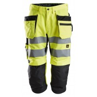 Snickers 6134 LiteWork Hi-Vis Pirate Trousers Holster Pockets