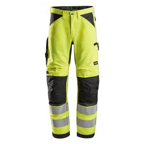Snickers 6332 LiteWork Hi-Vis Work Trousers