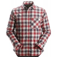Snickers 8501 RuffWork Padded Flannel Checked Long Shirt